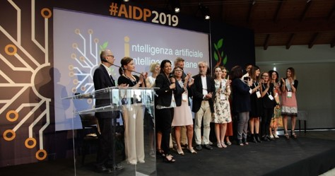ART and Anna Anchino at the National AIDP Congress